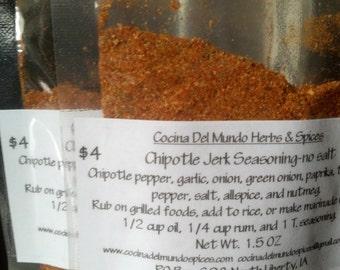 Wholesale 10 Pouches Chipotle Jerk Seasoning