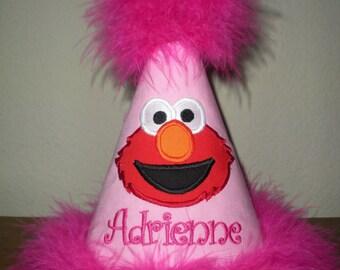 Elmo Birthday hat