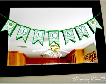 Lucky Shamrock Banner