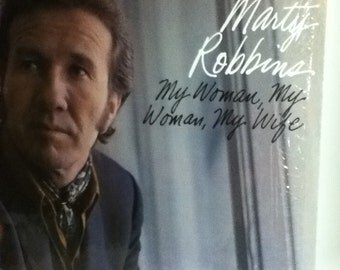 Marty Robbins My Woman My Woman My Wife Vintage Vinyl Record Album LP Set 1970 Columbia Records CS 9978
