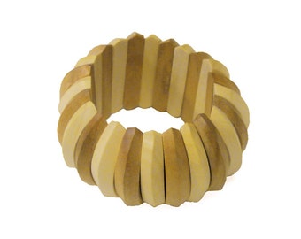 Bracelet, solid wood