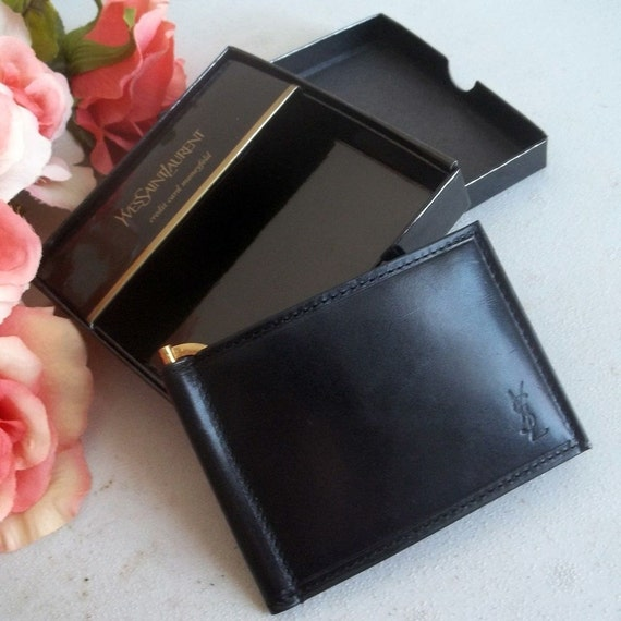 Yves Saint Laurent ysl bifold wallet by FRANSCOSMETICSBARGIN