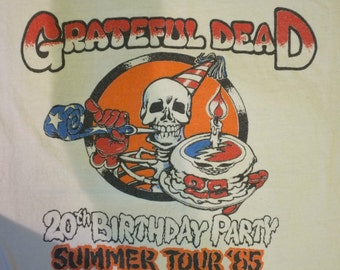 Grateful Dead 1985 ... 20 Years Anniversary ... Birthday Cake ..