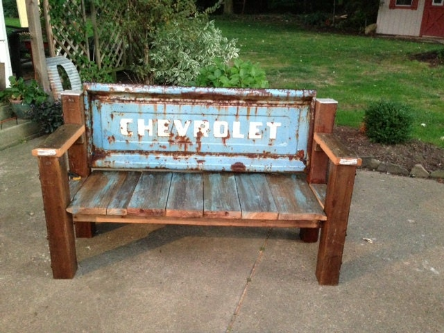 Chevrolet Tailgate Bench Reclaimed Wood