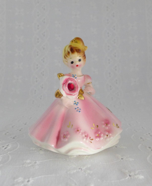 Josef Originals Figurine January Birthstone Doll Of The