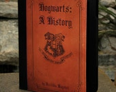 "Nook Color and Nook Tab 7"" - Harry Potter Hogwarts A History Leather - Tablet Case"