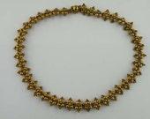 Beading Tutorial - Baroque Necklace