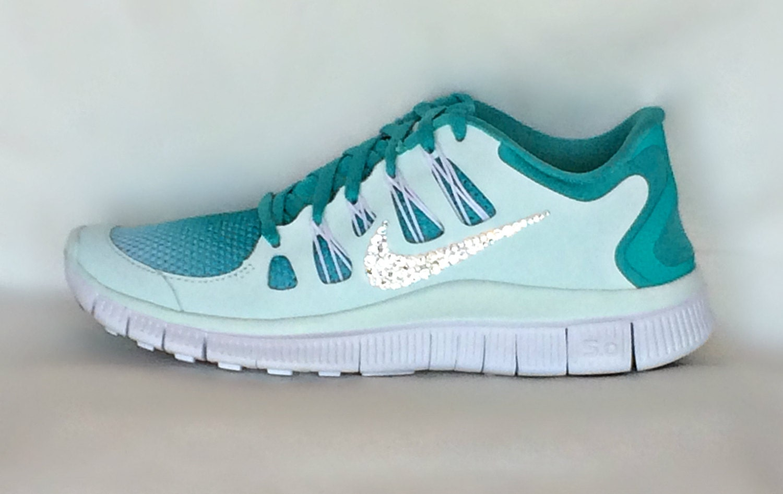 Nike Free Run 5.0 Womens Tiffany Blue