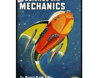 Science And Mechanics 1944 poster, k014