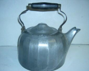 Wagner  aluminum  tea pot