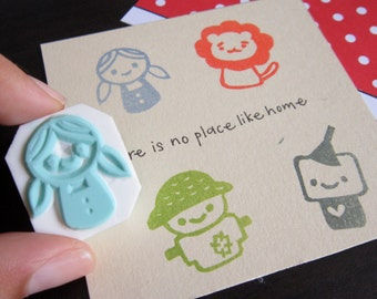 Wizard of Oz Rubber Stamps - Set of 4