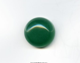 Natural Semi Precious 12 mm Aventurine Round Cabochon for One