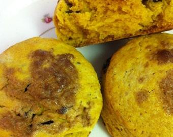 Fresh Gluten Free Pumpkin Scones