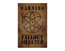 Gravity Falls - Fallout Shelter Poster