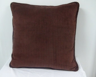 Brown Corduroy Throw Pillow : Modern Pinecone Throw Pillow Cover Fall Accent Pillow
