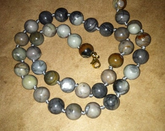 India Agate necklace