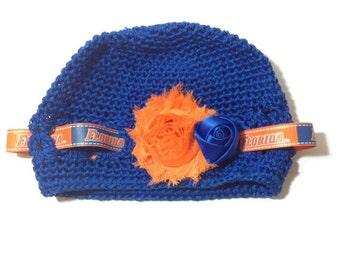 Florida Gators Orange and Blue Kufi Hat for Infant/Child/Toddler/Baby