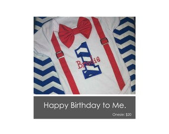 First Birthday Onsie