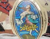 Vintage  Beer Sign With Blatz Valerie Girl Dancing