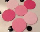 Pink Polka Dot Party Confetti