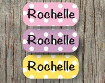 140 Iron on Clothing Labels Iron on Labels Camp Clothing Tags Daycare Name Labels School Camps - Uncut - Rochelle