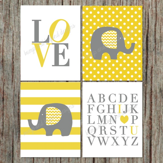 Items Similar To DIY Elephant Printable Wall Art Digital Print INSTANT DOWNLO