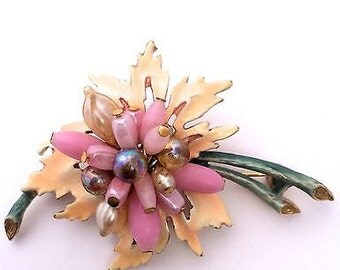 signed florenza brooch