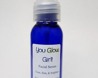 You Glow Girl! Facial Serum to Combat Fine Lines, Age Spots, & Dull Skin