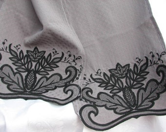 FS-016 Embroidered Scarf