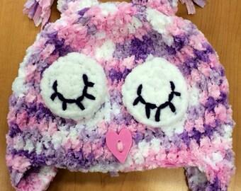 Sleepy owl hat
