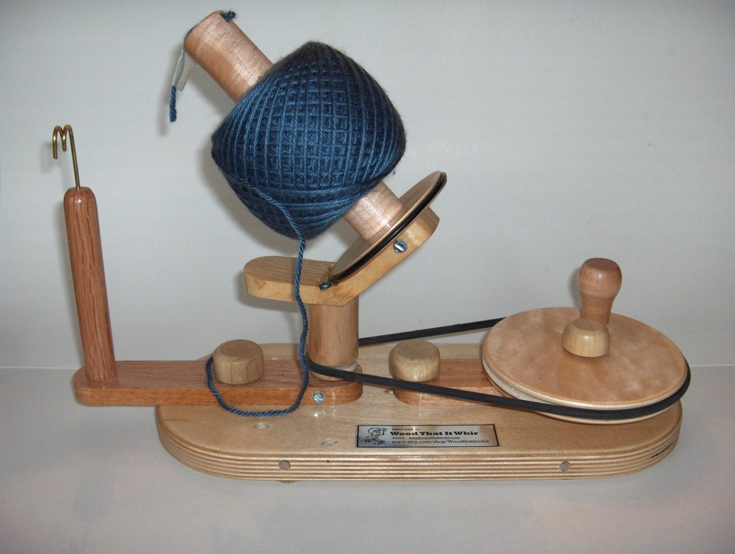 RESERVED Yarn Ball Winder by Wood That It Whir, Handmade ...