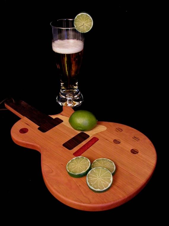 Custom Les Paul Guitar Cutting Board