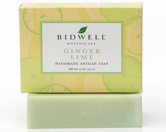 Ginger Lime Handmade Artisan Soap
