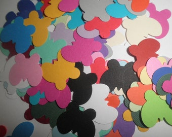 100 Small Butterflies Mixed colors Table decor die cuts -perfect for confetti,showers, scrapbooking, cards,parties, embellishments
