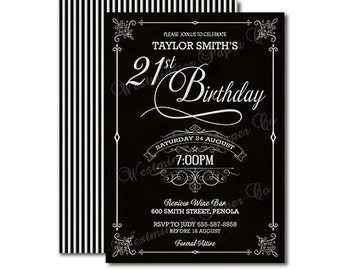 st birthday invitations  etsy, party invitations