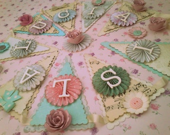 Personalised Bunting - up to 6 letters