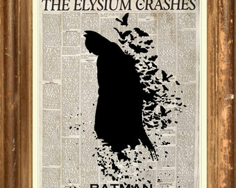 Batman The Dark Knight  Poster Print wall art  HH10660 S15