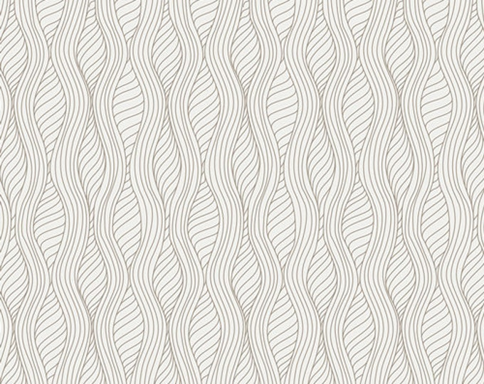 Half Yard Drift - Serenity Entwined in Pearl - Cotton Quilt Fabric - from Angela Walters for Art Gallery Fabrics (W1699)