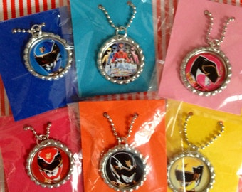 Power Ranger 10 Qty Party Favor Necklaces Power Ranger Party Power Ranger Boys Party Favor Power Ranger Party