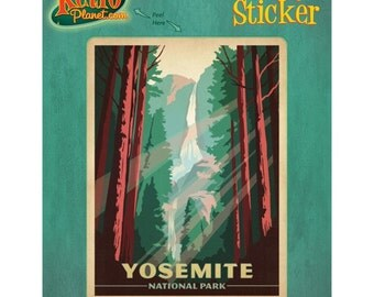 Yosemite National Park California Vinyl Sticker - #47946