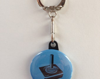Video Game Keychain Handmade Keychain, Video Game Stuff, Geek Keychain, Video Games, Nerd