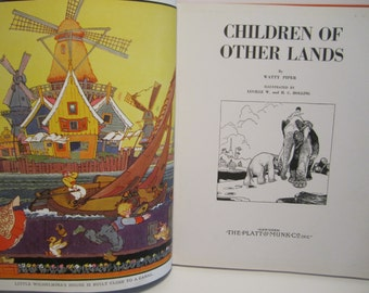 1933 Children of Other Lands Hardcover by Watty Piper
