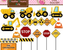 40% Off! Construction Digital Art Instant Download