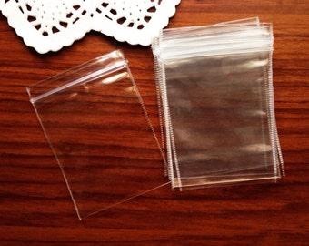 200 clear ziplock 5cm x 7cm (s size)