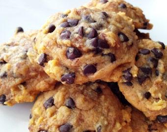 Pumpkin Oatmeal Cookies - Cookies