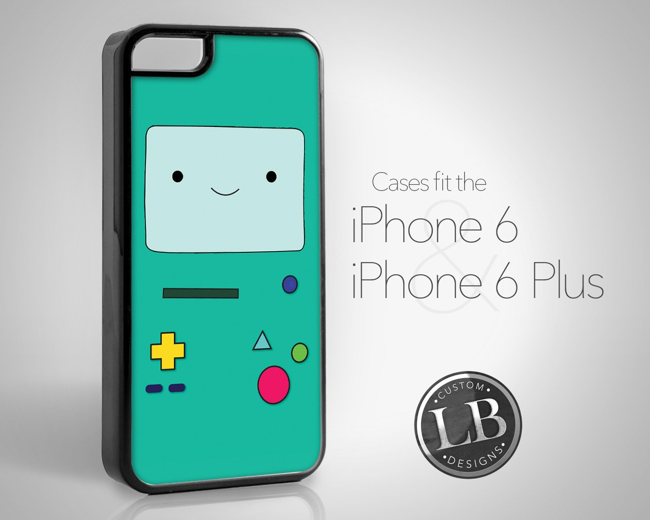 iPhone 6 Case Adventure Time Inspired BMO Beemo Funny