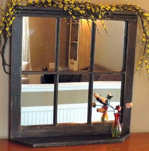 Custom Vintage Reclaimed Wood Window Frame By Schoolhousecraft