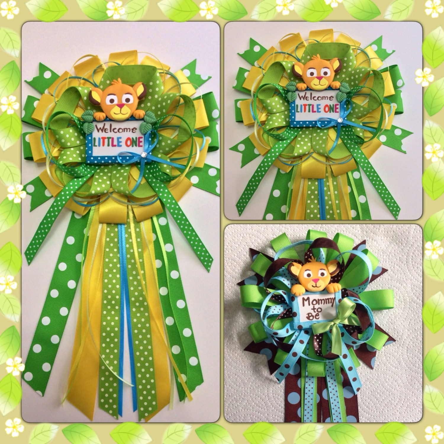 lion king baby shower mommy to be bow by marshmallowfavors on etsy