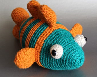 Amigurumi Puffer Fish : Popular items for pez amigurumi on Etsy
