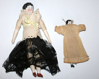 Stunning Little Collection Of  Two Antique Dolls /MEMsArtShop.